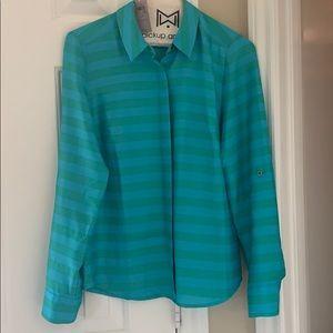 New Ann Taylor striped blouse